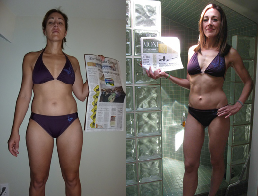how to lose fat and built muscle women over 40